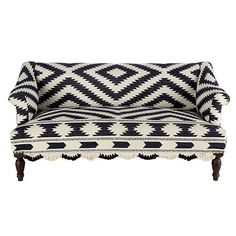 Mexican Otomi couch. Coolest thing ever