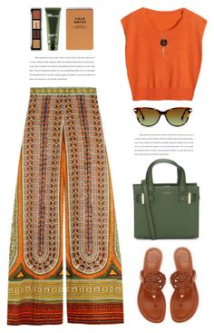 """""""..."""" by yexyka ❤ liked on Polyvore featuring Valentino, Tory Burch, Origins and Lucky Brand"""