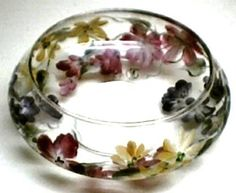 One Stroke Glass Course - Wildflower Candle Dish