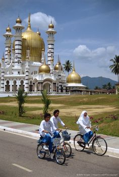 Ubadiah Mosque, Kuala Kangsar, Malaysia