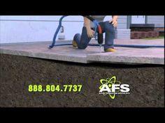 Solutions for Sinking Concrete Slabs | Mudjacking Alternatives | PolyLEV...