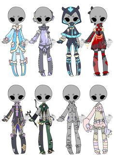 .:Adoptable:. Outfit Batch 08 [5/8] by DevilAdopts.deviantart.com on @DeviantArt