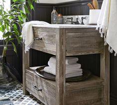 Paulsen Reclaimed Wood Vanity