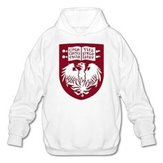 Lonmir Men's University Of Chicago Long Sleeve Hoodie S White - Brought to you by Avarsha.com