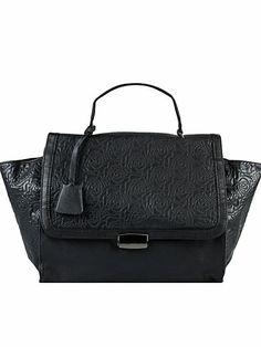 Osaka Ancolie Handbag - Friis & Company - Musta - Laukut - Asusteet - Nainen - Nelly.com