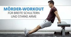 TOP workout for strong upper arm and shoulder muscles A muscular and strong upper arm and shoulder m Fitness Workouts, Yoga Fitness, Fitness Motivation, Body Workouts, 300 Workout, Workout Memes, Aerobics Videos, Arm And Shoulder Muscles, Benefits Of Cardio