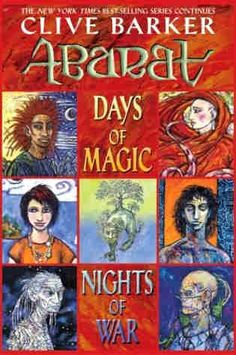 Clive Barker, The Abarat Series ~Days of Magic, Nights of War