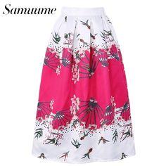 Look what I found on AliExpress Umbrella Skirt, Cheap Skirts, Pleated Midi Skirt, Floral Prints, Clothes For Women, Fashion, Outerwear Women, Moda