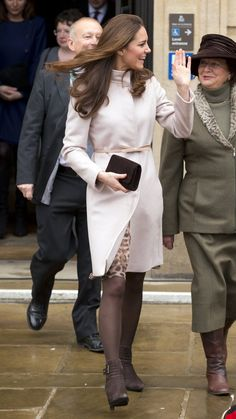 Pin for Later: Let the Duchess of Cambridge Inspire Your Next Winter Coat…