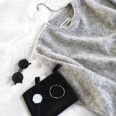 "Cecilie Krog | BYKROG på Instagram: ""My all time favorite sweater // #bymalenebirger #mohair #sweater #danielwellington #gramercidesign"""