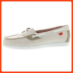 d8970cc4d324 Sperry Top-Sider Women s Sea-Sider Canvas Boat Shoe Ivory 6 M US ( Partner  Link)