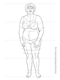 An alternative to the stereotypical fashion figure templates