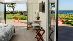 Cottages vue mer terrasse Finistère Sud Ar Men Du Névez