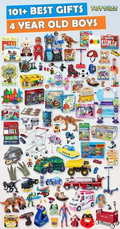 Browse our Gift Guide featuring Best Birthday Toys For 4 Year Old Kids. Discover educational toys, unique kids gifts, kids games, kids books, and more for your 4 year old boy. Make his Birthday extra magical with these delightful picks he'll love! Best Gifts For Boys, Cool Toys For Boys, Unique Gifts For Kids, Kids Gifts, Unique Toys, Craft Gifts, 4 Year Old Boy Birthday, Birthday Gifts For Boys, Unique Birthday Gifts