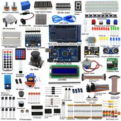 Adeept DIY Electric Ultimate Starter learning Kit for Arduino MEGA 2560 with Guidebook Motor Freeshipping Book diy diykit //Price: $54.74 & FREE Shipping //     #videogame