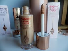 Diacover how to use Charlotte Tilbury Hollywood Flawless Filter #beautyblog #beautyproducts #makeup #maquillaje #charlottetilbury #charlottetilburyflawlessfilter #glowymakeup