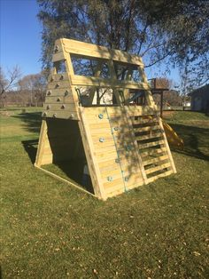 Playground Pyramid Side view
