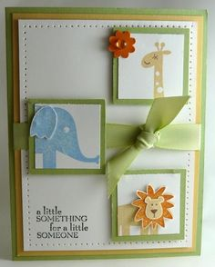 Baby Card by Stamp Addict 77 - Cards and Paper Crafts at Splitcoaststampers