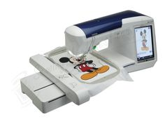Disney Brother Embroidery Machine | Brother Quattro® 2 6700D Disney Sewing, Quilting and Embroidery ...