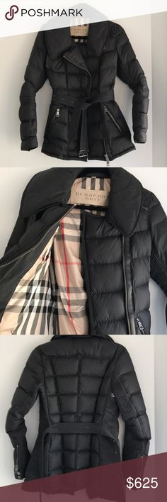 Burberry Jacket❗️PRICING FIRM❗️ Snug fit - RUNS SMALL. EXCELLENT condition. No signs of wear - looks new. Burberry Jackets & Coats