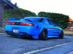 #Nissan #Silvia_S14 #Kouki #Zenki #200sx #240sx #Slammed #Stance #JDM #Modified