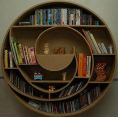 amazing cardboard book shelf