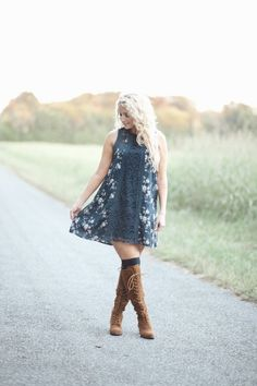 Prairie Lace Dress