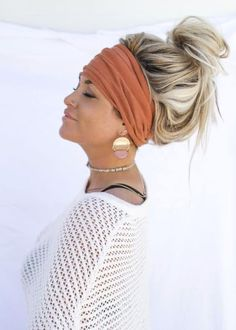 This twist turban Headband is perfect for styling any hair style. Pigtail Hairstyles, Headband Hairstyles, Braided Hairstyles, Men's Hairstyle, Wedding Hairstyles, Beach Hairstyles, Formal Hairstyles, Hairstyles Haircuts, Bad Hair