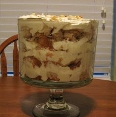 Little Rays of Sunshine: White chocolate macadamia nut trifle