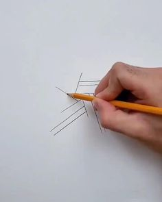 Easy tutorial about how to draw a star Art Drawings For Kids, Art Drawings Sketches Simple, Pencil Art Drawings, Colorful Drawings, Cool Drawings, Easy Sketches To Draw, 3d Art Drawing, Geometric Drawing, Mandala Drawing