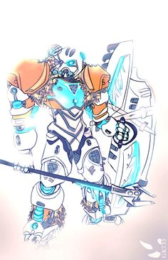 BIONICLE: Kopaka Master of Ice by gk733.deviantart.com on @DeviantArt