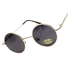 ( 9.95) Small Round Circle Vintage Retro Metal Sunglasses Mens Womens V01  From Style Vault fa3bc21a3ae3