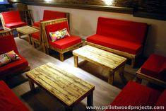 Riesige Holzpalette Möbel Pläne