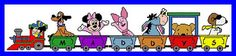 Cartoon Personalized Train Set 1/9