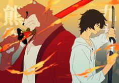 The Boy and the Beast #Kumatetsu #Kyuta (by KKK725)
