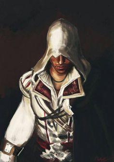 Ezio painting
