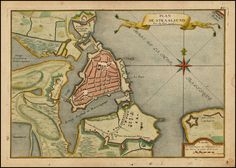 Straalsund, The Netherlands 1716 - De Fer - Barry Lawrence Ruderman Antique Maps Inc.