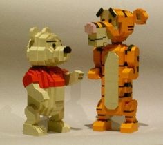 LEGO Winnie the pooh and tigger too!!
