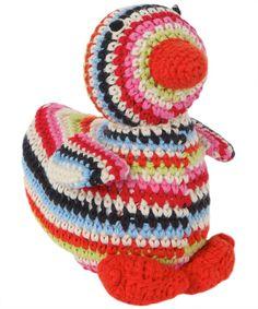 Crochet duck