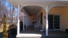 Sol Nuevo Extended by Durabrac Porch Brackets, Traditional Porch, Pvc Vinyl, Houzz, Exterior, Architecture, Outdoor Decor, Plants, Home Decor