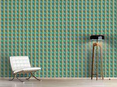 Design #Tapete Iris Kreise