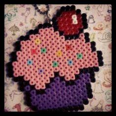 Cupcake hama beads by pelangi_beadsshop