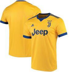 Juventus adidas 2017/18 Away Replica Jersey - Gold/Royal - $89.99