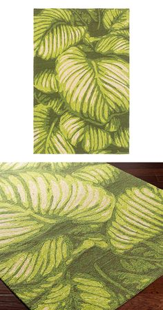 Turn over a new leaf. Hand-hooked in gradient shades of lime green, our Verdant Plumage Rug introduces a fresh-squeezed splash of color into spaces that need it the most. Suitable for indoor and outdoo...  Find the Verdant Plumage Rug, as seen in the Tropical Mid-Century Escape Collection at http://dotandbo.com/collections/tropical-mid-century-escape?utm_source=pinterest&utm_medium=organic&db_sku=117197