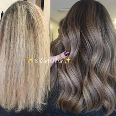 "Gefällt 8,471 Mal, 160 Kommentare - Patricia Nikole (@paintedhair) auf Instagram: ""✨Yesterday's Before and After transformation ☺️‍! It's funny how a little color and…"""