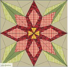 Sew Festive Handmade: Christmas in July - Snowflake Table Runner/Wall Hanging