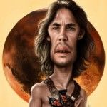 John Carter Caricature By Alex Gallego