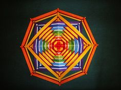 """> """"God's eye"""" or the mandala. Little MC. Discussion on LiveInternet - Russian Service Online diary"""