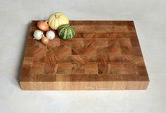 Endgrain Cutting Board  End Grain chopping board  by KubuHandmade