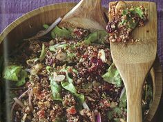Want a new recipe for a refreshing quinoa salad? Try Roberto Martin's Quinoa and Cranberry Salad, just in time for spring!